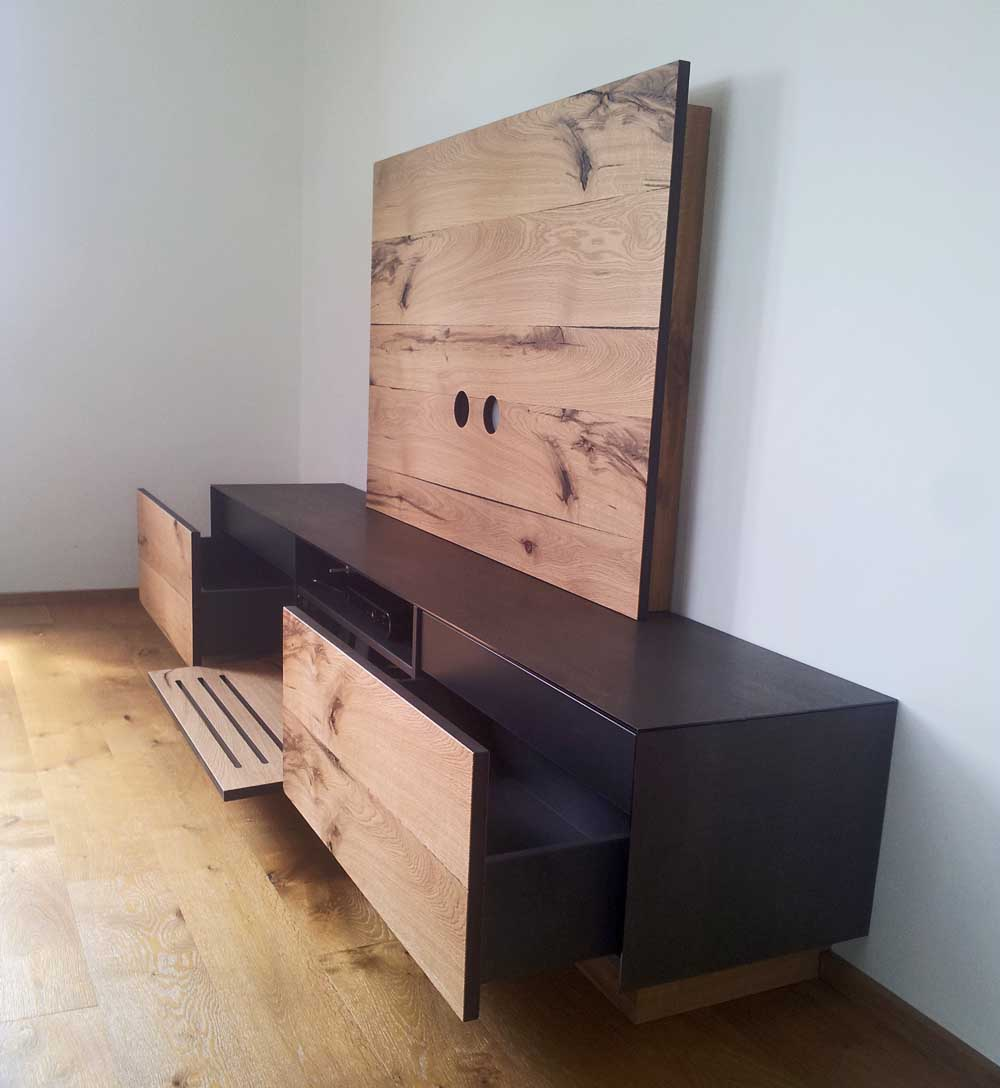 schr nke sideboards schreinerei deuble. Black Bedroom Furniture Sets. Home Design Ideas